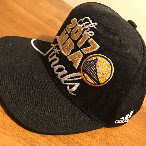 adidas Other - NBA Finals Golden State Warriors Championship Hat b3d0f1b71ac6